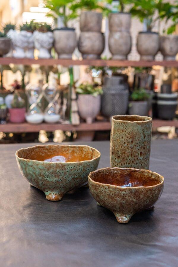 keramika, ranku darbo vazonas, indai, dubuo, keramikine vaza, keramikinis indas
