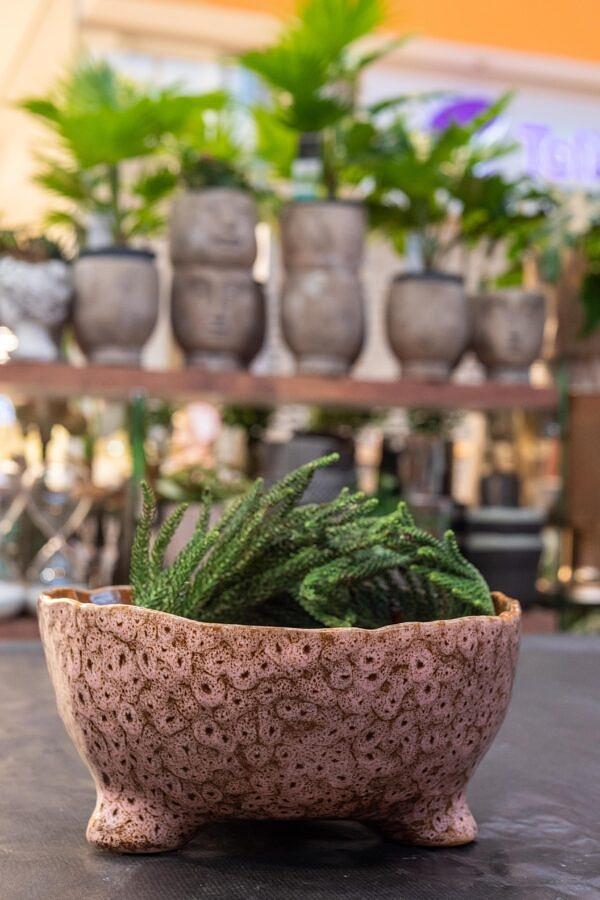 keramika, vazonas, ranku darbo vazonas, vazonelis, keramikinis dubuo, augalai, vazonai augalams, kambariniai augalai